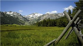 Squaw Valley Meadow, Olympic Valley, California