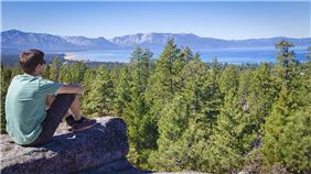 Hike with a Lake Tahoe View