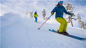 Squaw Valley Skiers