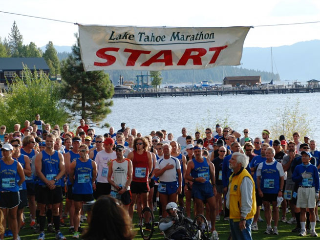 17th Annual Lake Tahoe Marathon