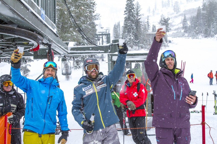 2016/17 Squaw Alpine Ski Season Opening Day!