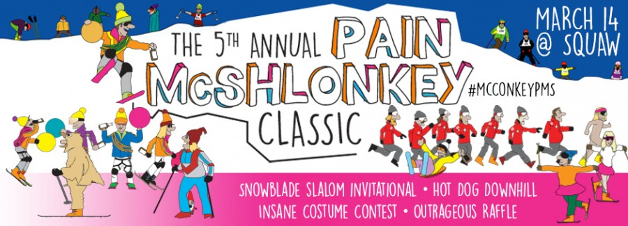 5th Annual Pain McShlonkey Classic at Squaw Valley