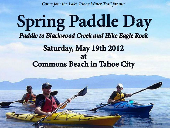 Annual Spring Paddle