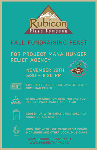 Fall Fundraising Feast for Project Mana