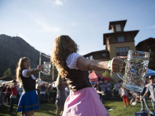 Oktoberfest at Squaw Valley: Drink In The Autumn Season!