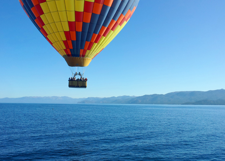 Private Hot Air Balloon Ride Over Tahoe