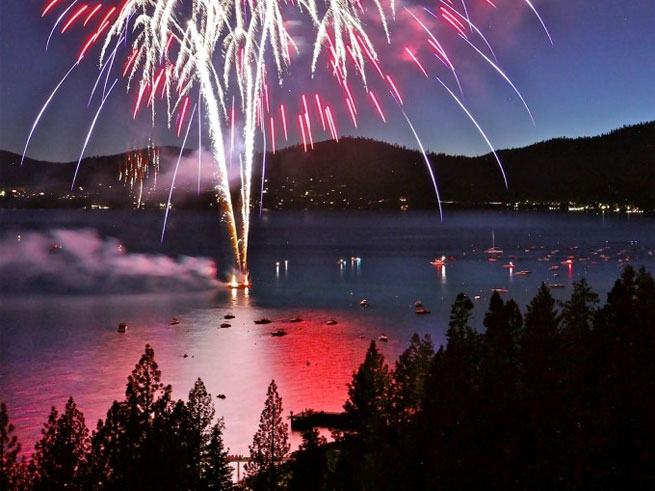 Red, White and Tahoe Blue Celebration in Incline Village, Nevada