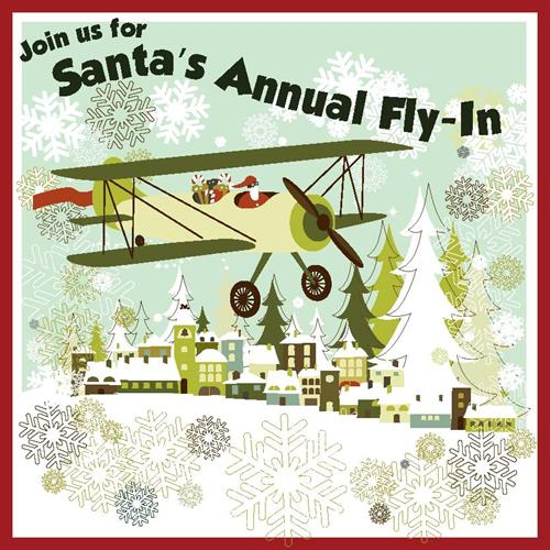 Santa's Annual Fly-in at the Truckee Airport