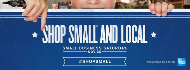 Shop Local: Small Business Saturday on November 30