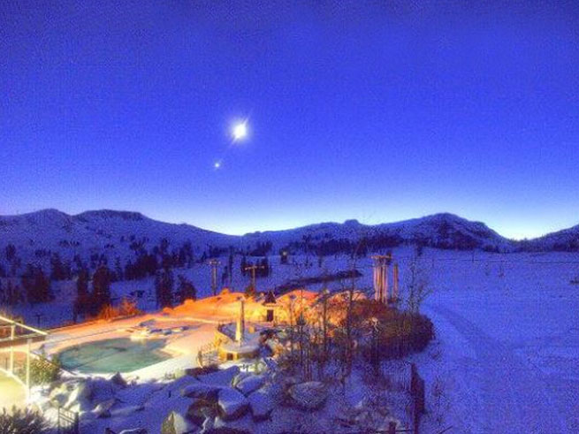Twilight Snowshoe Tour at North Lake Tahoe