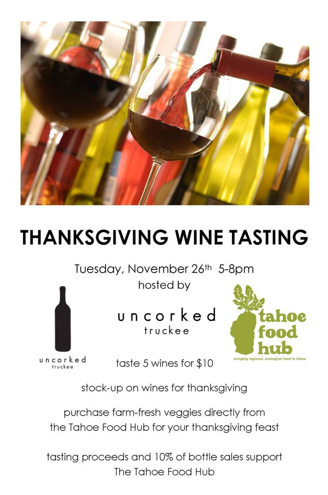 Uncorked at Squaw Thanksgiving Wine Tasting