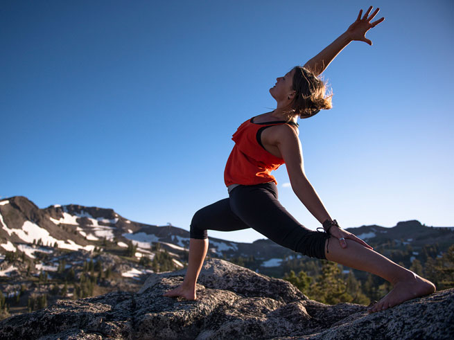 Wanderlust Yoga Studio at Squaw Valley (Not Just The Festival!)